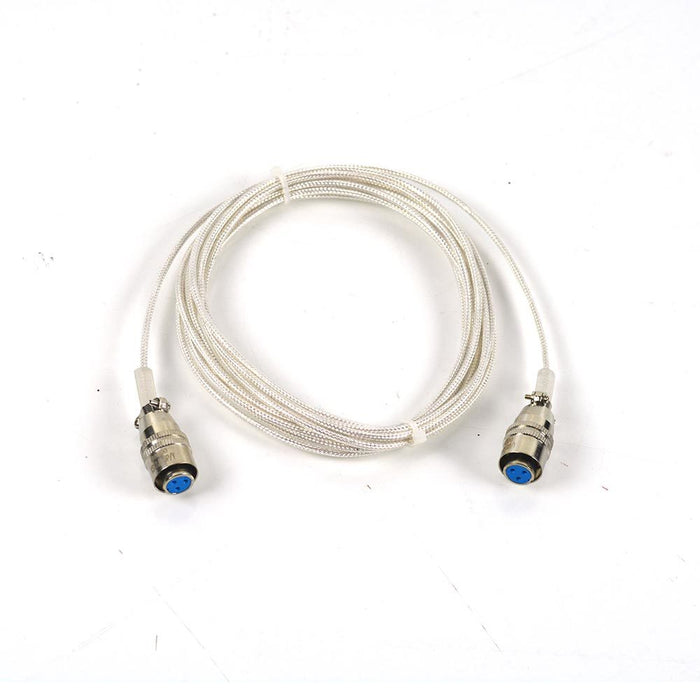 RTD sensor Cable, Braided cable 12'