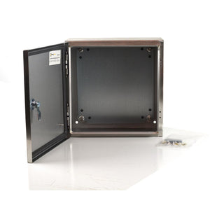 304 Stainless NEMA Enclosure 400x400x200