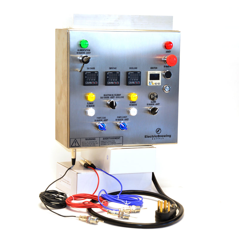 PID Control Panel, 2 elements, 2 aux, UL/cUL listed