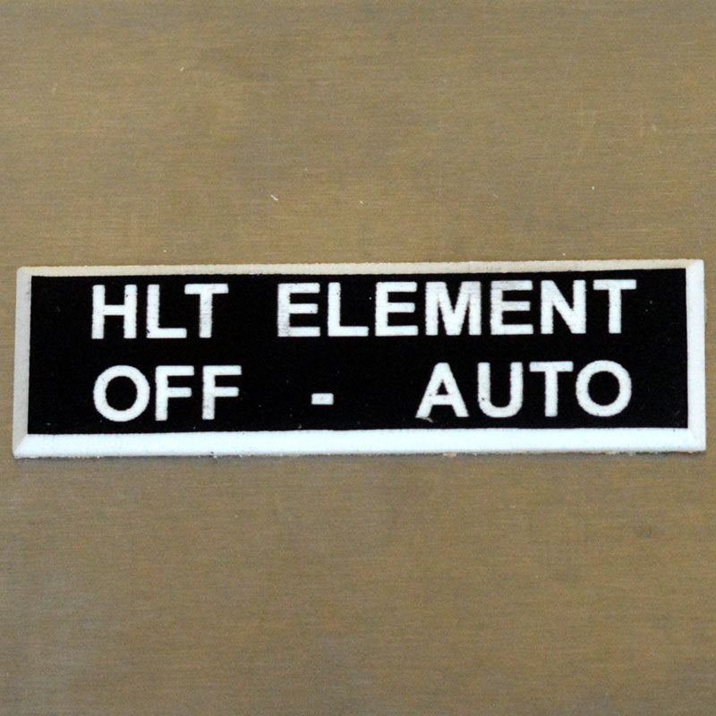 Panel Tags - HLT Element / Off - Auto