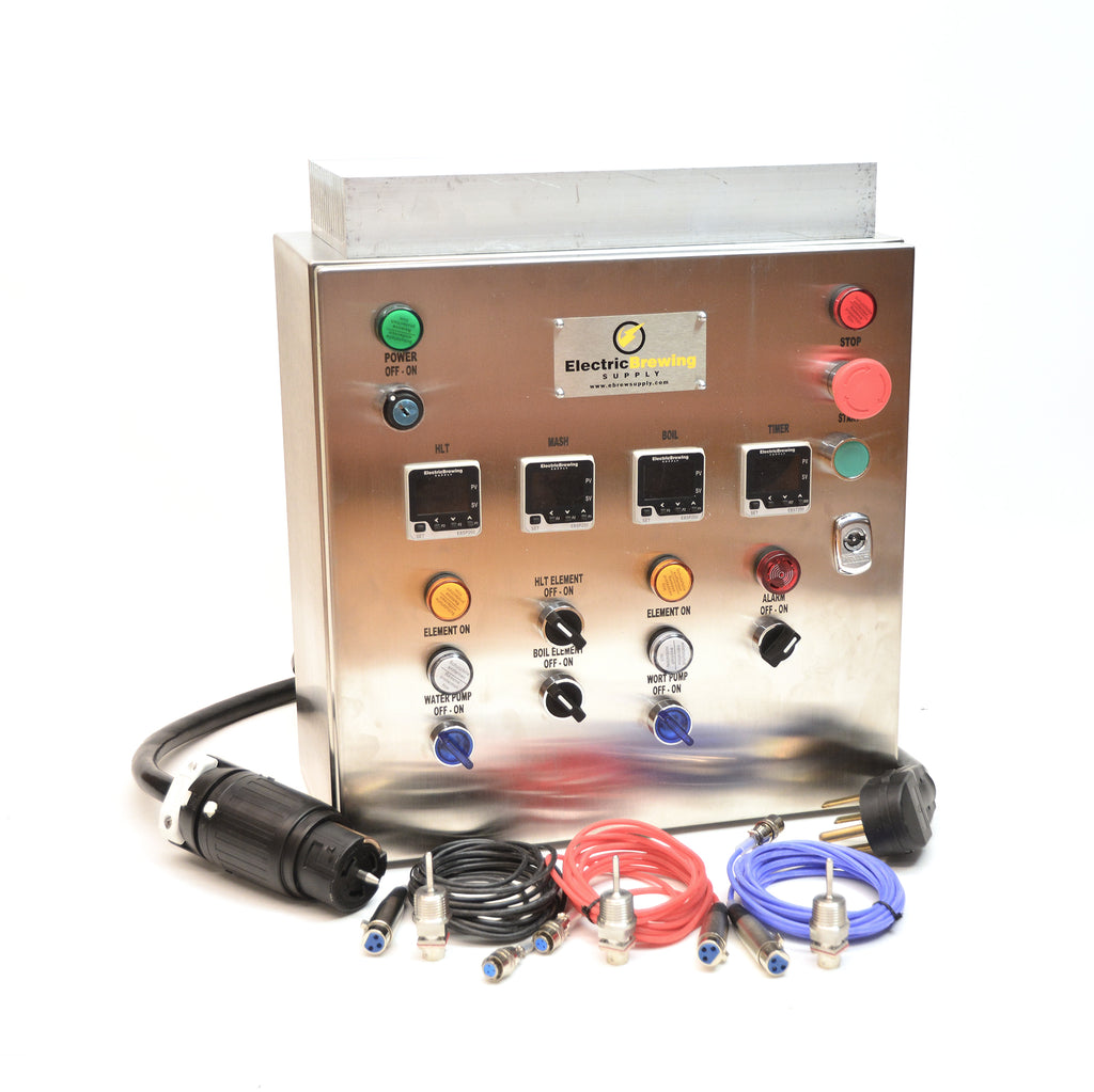 50a PID Control Panel, 2 elements, International