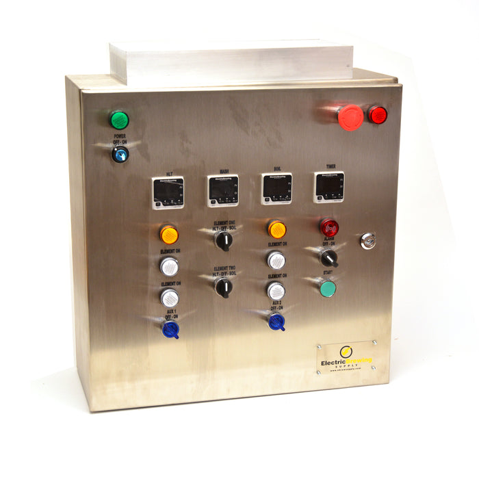 50a PID Control Panel, 4 elements, International