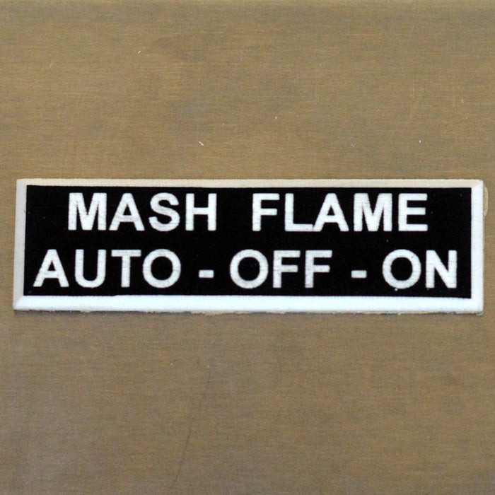 Panel Tags - MASH Flame / Auto - Off - On