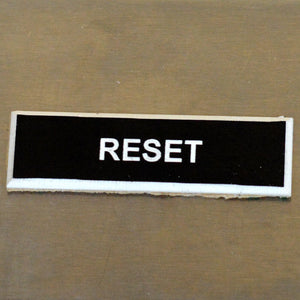 Panel Tags - Reset