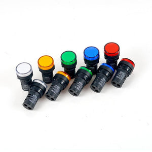 240v 22mm Pilot LED Lights
