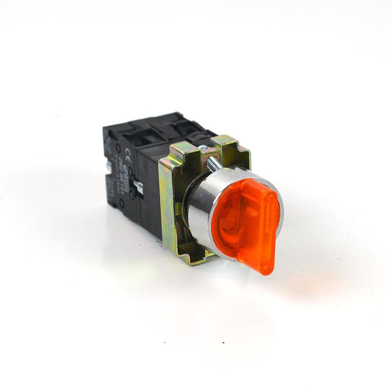 Yellow LED Toggle LED 3-way Switch