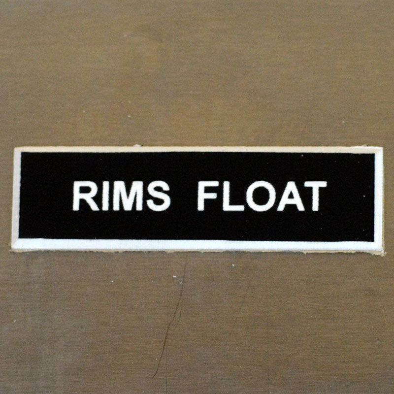 Panel Tags - RIMS Float