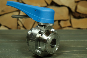 Tri-Clamp Compatible Butterfly Valve