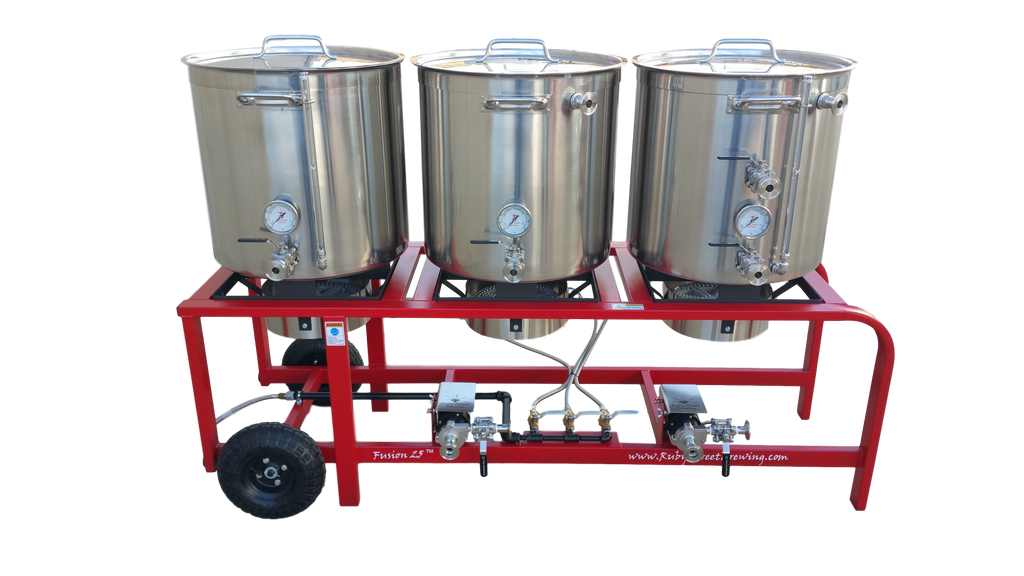 Ruby Street Fusion 25 Brewing System (Propane)