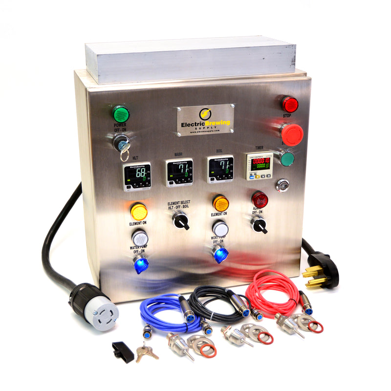 30a PID Control Panel, 2 elements, Ding and Dent Special
