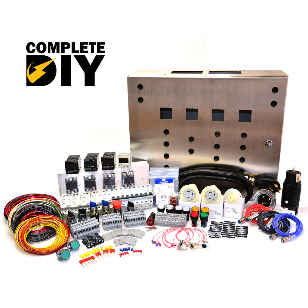 50a Complete PID Control Kit, 4 elements