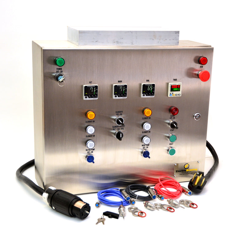 50a PID Control Panel, 4 elements, Ding and Dent Special
