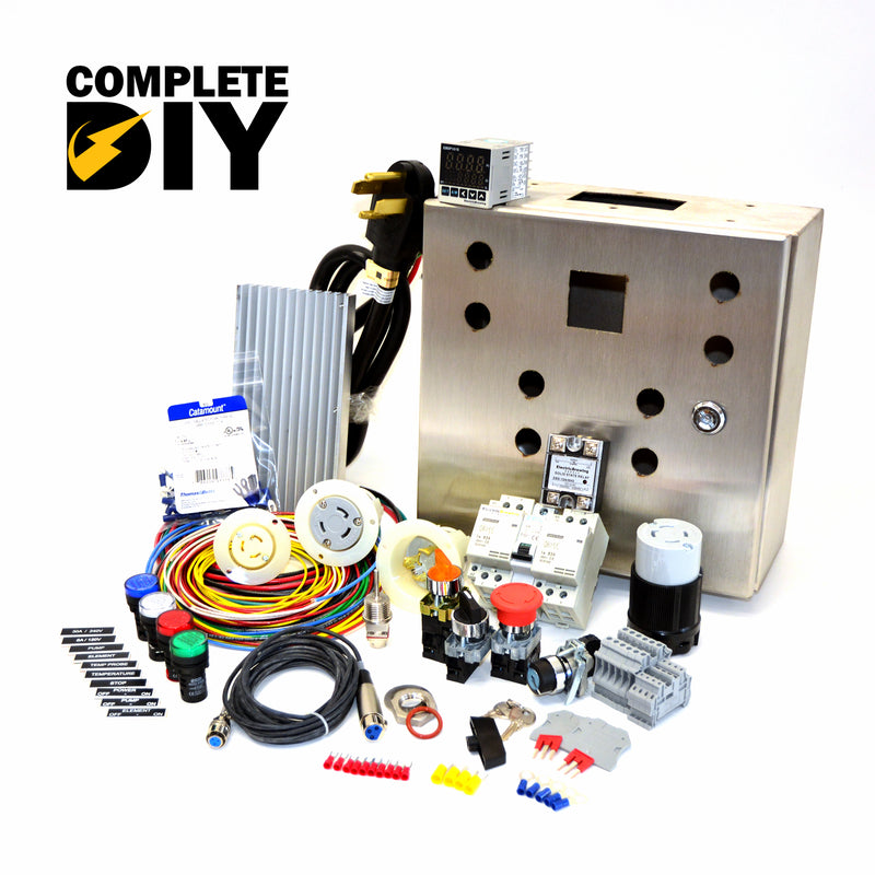 30a PID Complete Control Panel Kit – Electric Brewing Supply