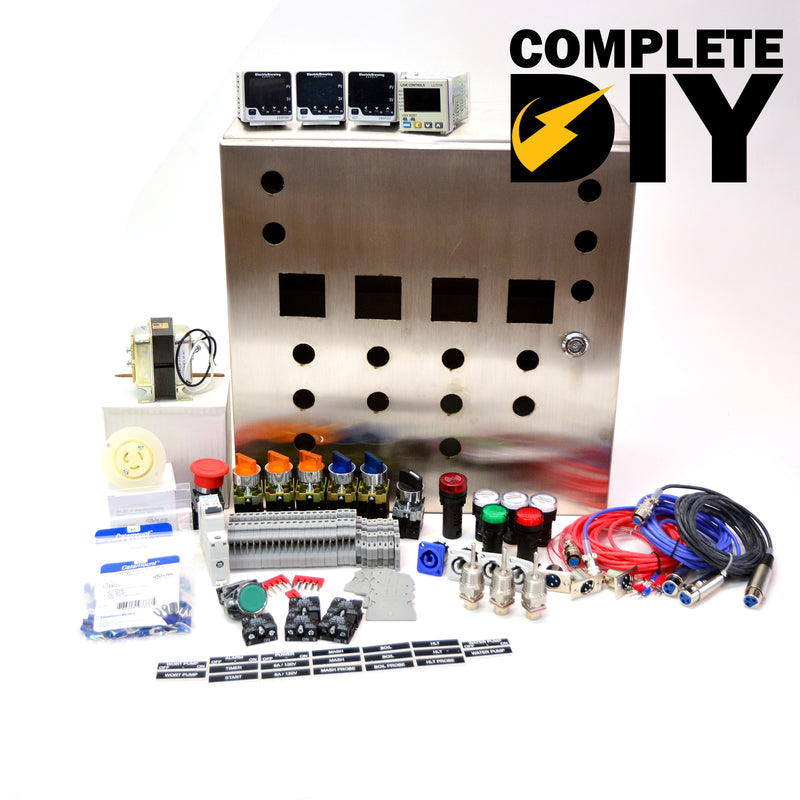 Complete Gas PID Control Panel Kit