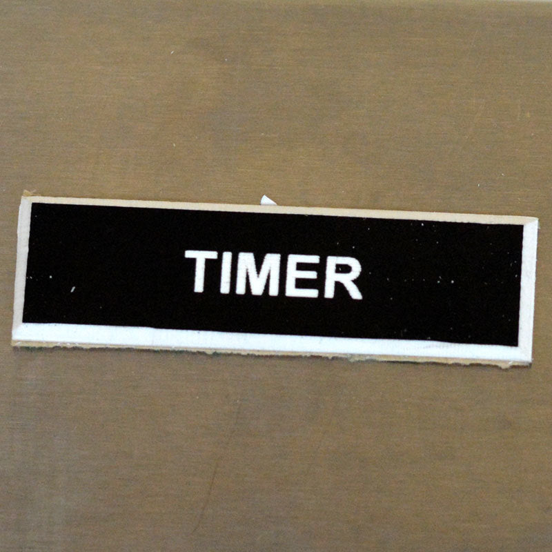 Panel Tags - Timer