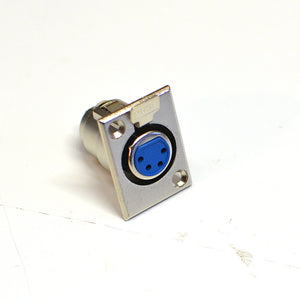 XLR 4-pin Fe-Male Panel Mount