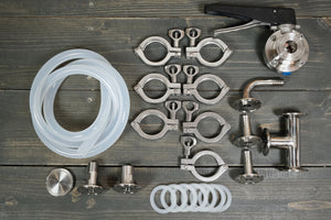 Unibräu Butterfly Valve Fitting Kit