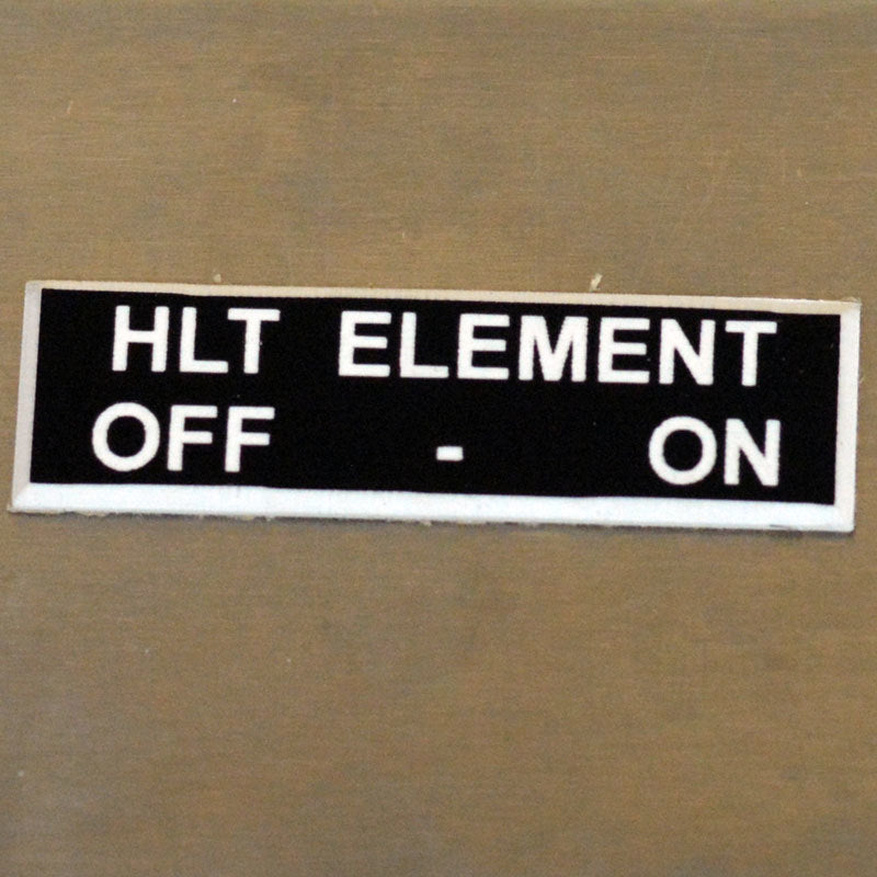 Panel Tags - HLT Element / Off - On