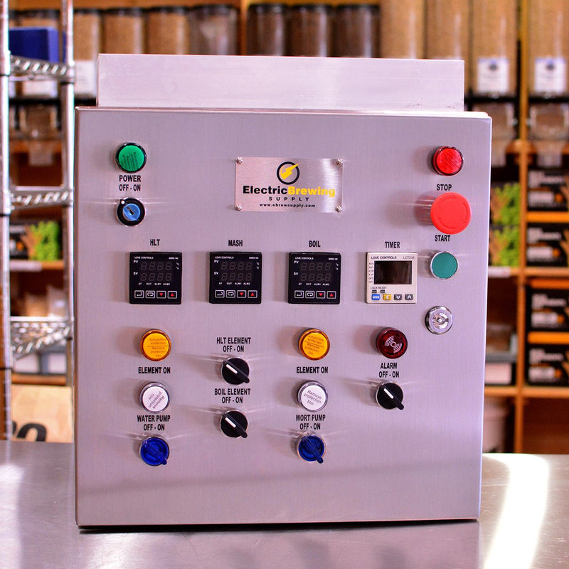 50a PID Control Panel, 2 elements, Ding and Dent Special