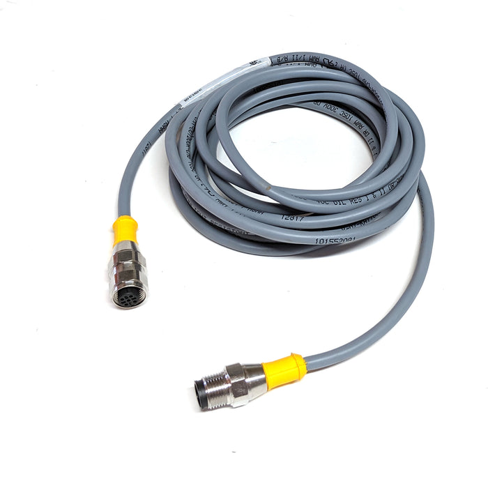 Turck M12 Patch Cable - M/F - 3m - RKV4.4T-3-RSV 4.4T