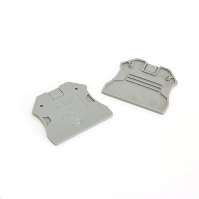 Phoenix Contact Terminal End cover - D-UT 2,5/10