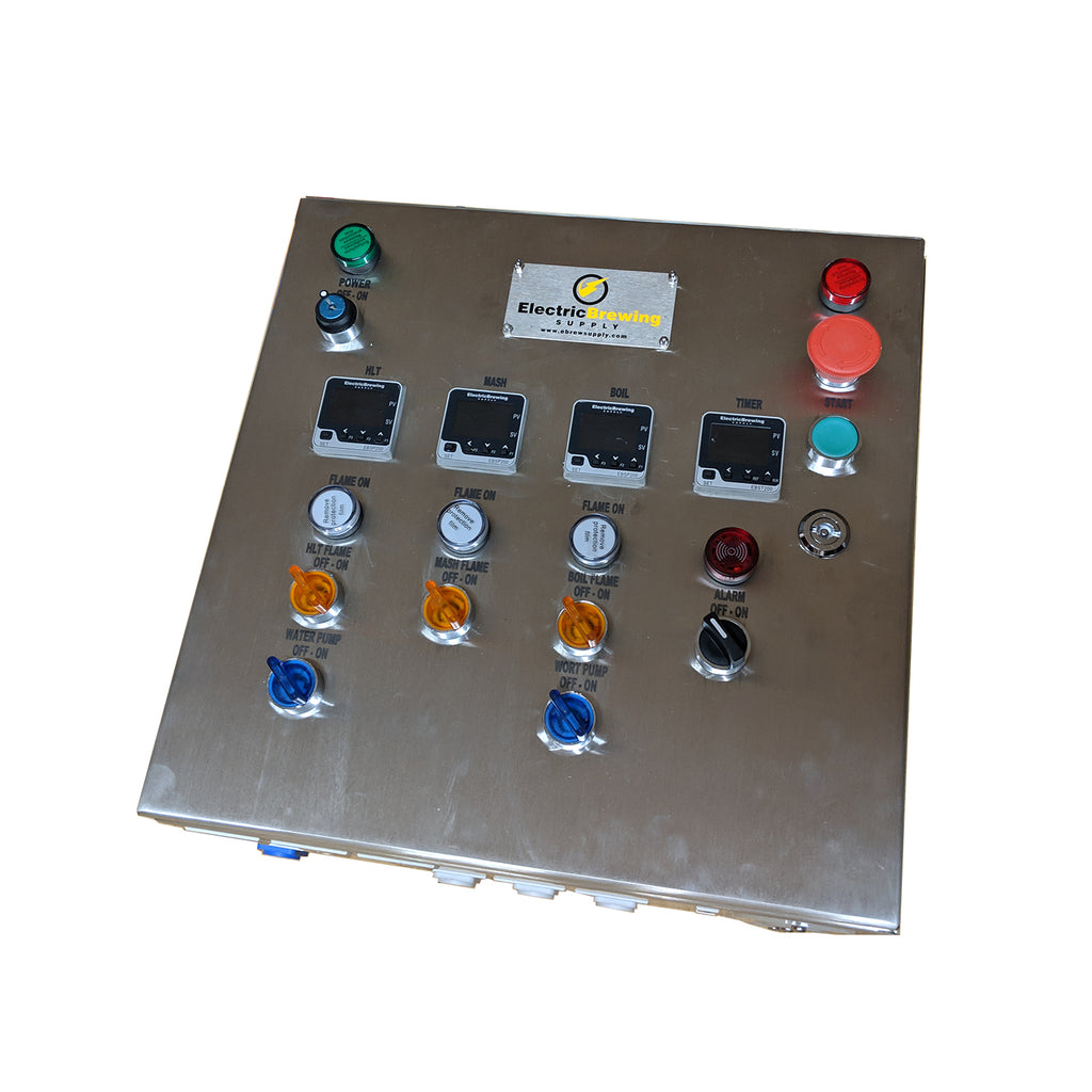 Gas PID Control Panel, 3 gas