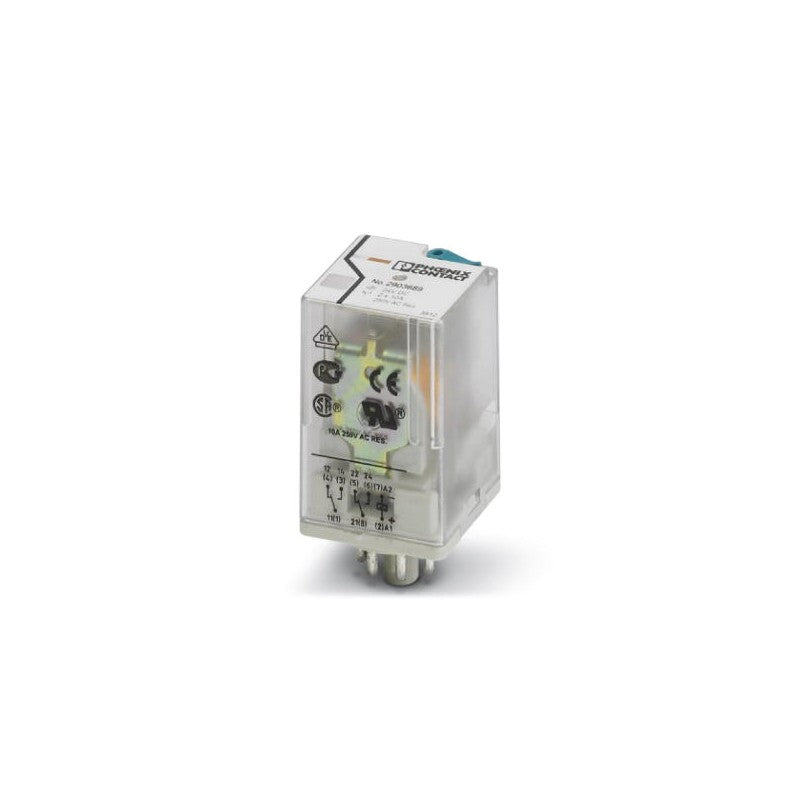 Phoenix Contact REL-OR2/L-120AC/2X21 - Ice Cube Octal DPDT Relay