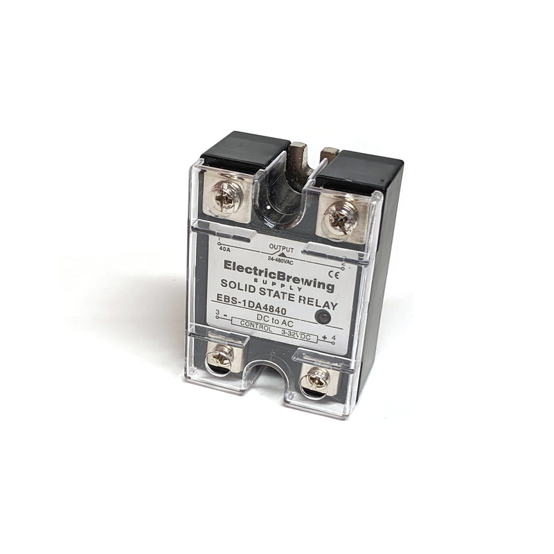 40a Solid State Relay SSR UL-Listed – Electric Brewing Supply on