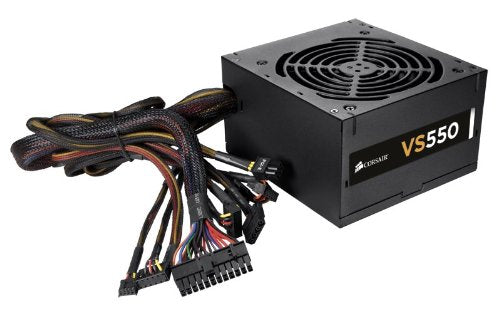 Corsair VS550 550WATT Desktop Computer Power Supply/PSU/SMPS ...