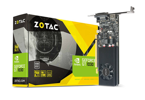 ZOTAC Nvidia GT1030 2GB DDR5 Graphic Cards for Gaming PC