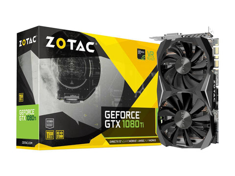 ZOTAC GeForce GTX 1080Ti 11GB DDR5 Graphics Card for Gaming PC