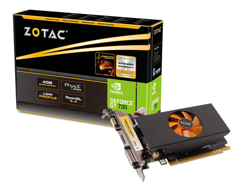 ZOTAC GeForce GT 730 4GB DDR5 Graphic Cards for Gaming PC