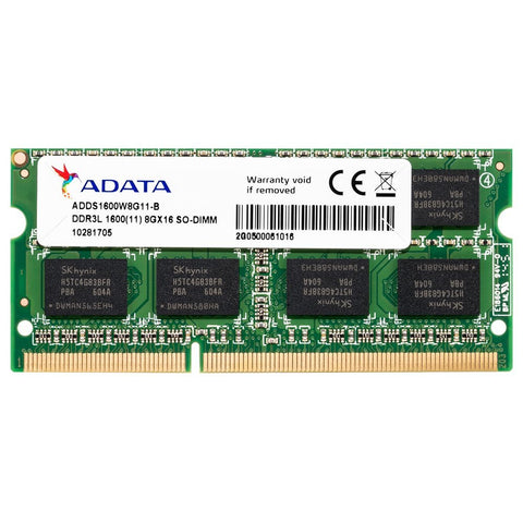 ADATA 8GB DDR3 RAM for Laptop