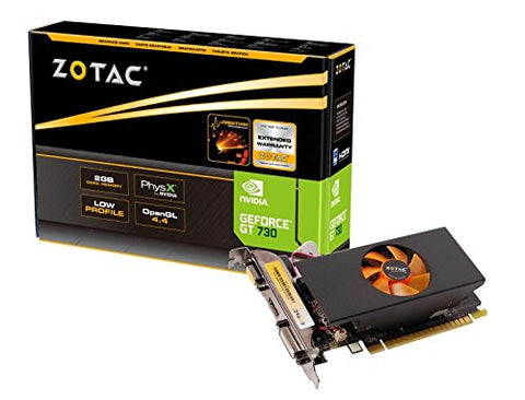 Zotac Nvidia GT 730 2GB DDR5 Graphic Cards for Gaming PC
