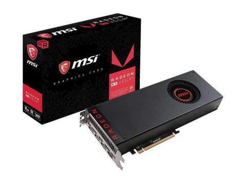 MSI Radeon RX Vega 64 8GB Graphics Card for Gaming PC