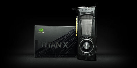 NVIDIA TITAN X 12GB DDR5 Graphics Card for Gaming PC