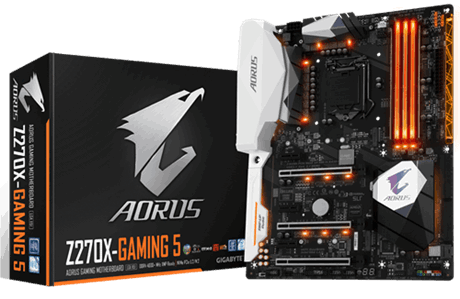 GIGABYTE Z270X-GAMING 5 Intel Compatible Motherboard for Desktop Computer/PC