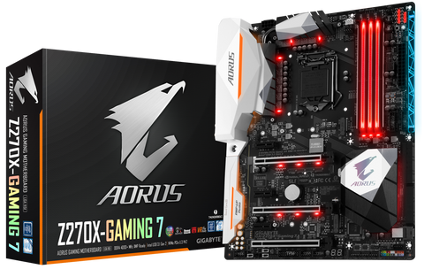 GIGABYTE Z270X-GAMING 7 Intel Compatible Motherboard for Desktop Computer/PC