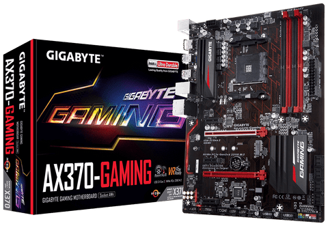 Gigabyte GA-AX370-GAMING AMD Compatible Motherboard for Desktop Computer/PC