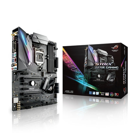 ASUS STRIX Z270E GAMING Intel Compatible Motherboard for Desktop Computer/PC