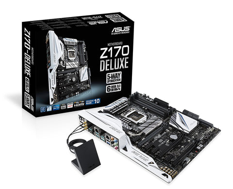 ASUS Z170-DELUXE (1151) Intel Compatible Motherboard for Desktop Computer/PC