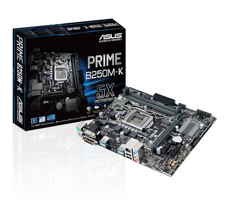 ASUS PRIME B250 MK Intel Compatible Motherboard for Desktop Computer/PC