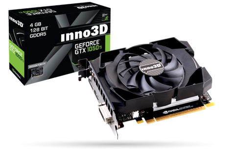 Inno3D Nvidia Geforce GTX1050TI 4GB DDR5 Graphics Card for Gaming PC