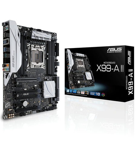 ASUS X99-A (II) 2011 Intel Compatible Motherboard for Desktop Computer/PC