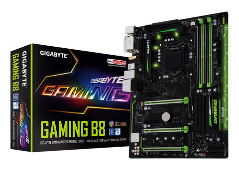 GIGABYTE GA- GAMING B8 Intel Compatible Motherboard for Desktop Computer/PC