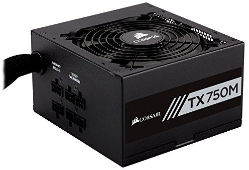 CORSAIR TX 750M (750W) Desktop Computer Power Supply/PSU/SMPS