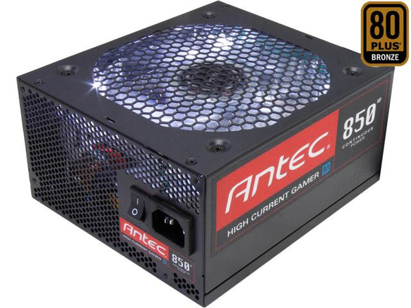 Antec Gamer HCG-850M 850WATT 80 PLUS Bronze Desktop Computer Power Supply/PSU/SMPS