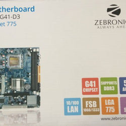 ZEBRONICS G41 (775) Intel Compatible Motherboard for Desktop Computer/PC