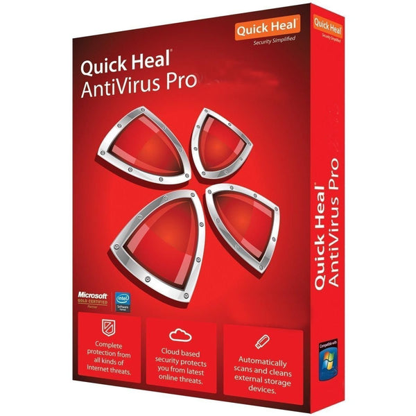 QUICK HEAL ANTI-VIRUS (1 USER) - RIGASSEMBLER