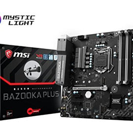 MSI Gaming Intel B250M BAZOOKA PLUS Intel Compatible Motherboard for Desktop Computer/PC